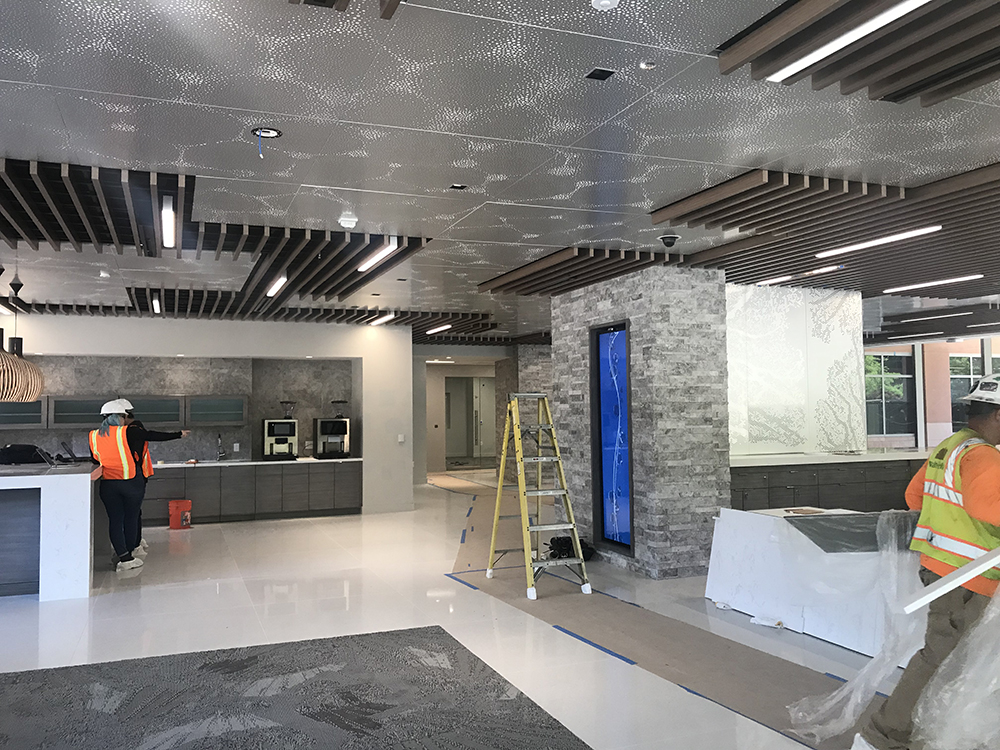 Our Work - Metal Ceiling